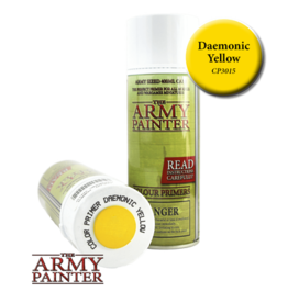 The Army Painter Color Primer: Daemonic Yellow (Spray 400ml)