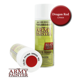 The Army Painter Color Primer: Dragon Red (Spray 400ml)