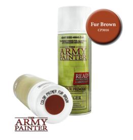 The Army Painter Color Primer: Fur Brown (Spray 400ml)