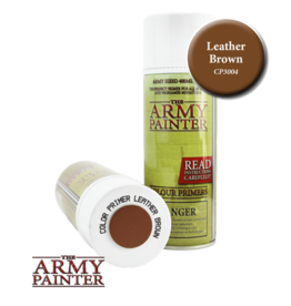 The Army Painter Color Primer: Leather Brown (Spray 400ml)