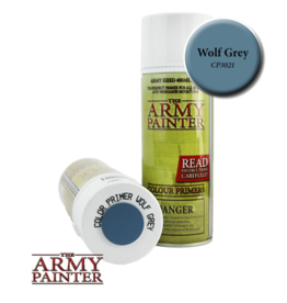The Army Painter Color Primer: Wolf Grey (Spray 400ml)