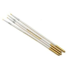 Taklon Spotter Detail Brush Set (4 pieces)