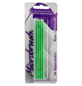 Regular (Green) Brush Applicator (10pcs.)