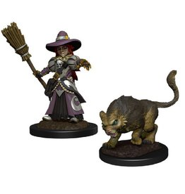 WizKids Wardlings (Girl Witch & Witch's Cat)