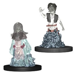 WizKids Wardlings (Ghost Female & Ghost Male)