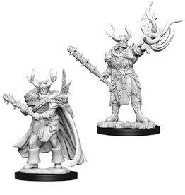 WizKids Pathfinder Mini (Male Half-Orc Druid)