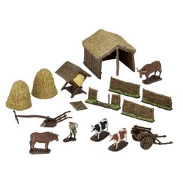 WizKids 4D Settings (Medieval Farm)