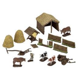 WizKids 4D Settings (Medieval Farmer)