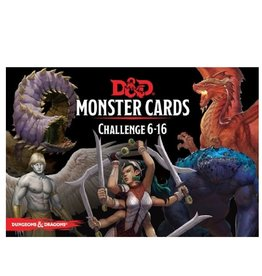 Wizards of the Coast Monster Cards (Challenge 6-16)