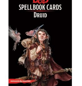 Wizards of the Coast Spellbook Cards: Druid