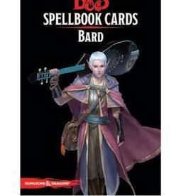 Wizards of the Coast Spellbook Cards: Bard