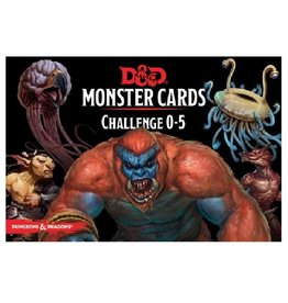 Wizards of the Coast Monster Cards (Challenge 0-5)