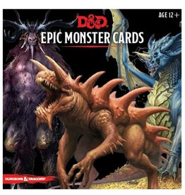 Wizards of the Coast Monster Cards (Epic Monsters)