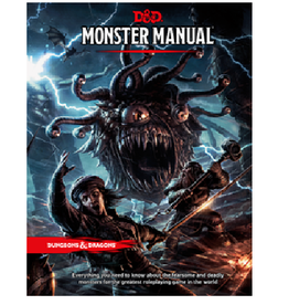 Wizards of the Coast Monster Manual (Core Rules, Sourcebook)