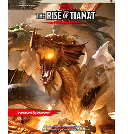 Wizards of the Coast The Rise of Tiamat (Adventure Module)