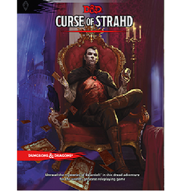 Wizards of the Coast Curse of Strahd (Adventure Module)