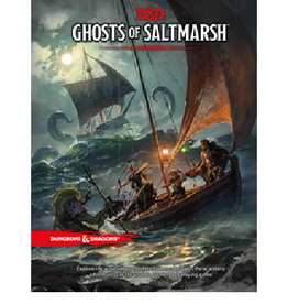 Wizards of the Coast Ghosts of Saltmarsh (Adventure Module)