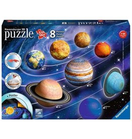 Ravensburger The Solar System - 3D Puzzle (522pc)