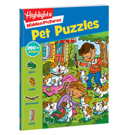 Hidden Pictures Stickers (Pet Puzzles)