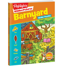 Hidden Pictures Stickers (Barnyard Puzzles)