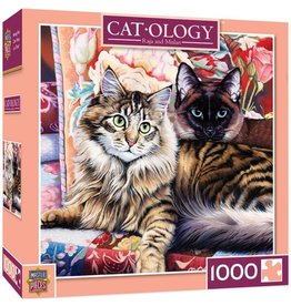 Masterpieces Puzzles & Games Catology: Raja and Mulan (1000pc)