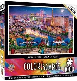 Masterpieces Puzzles & Games Colorscapes: Las Vegas Living (1000pc)