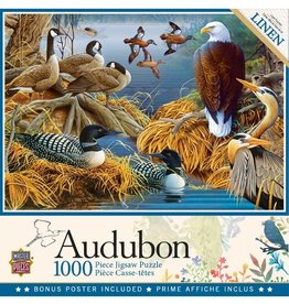 Masterpieces Puzzles & Games Audubon: Lake Life (1000pc)