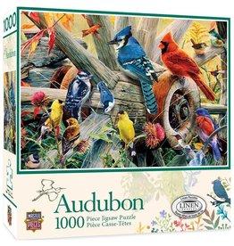Masterpieces Puzzles & Games Audubon: Backyard Birds (1000pc)