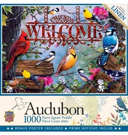 Masterpieces Puzzles & Games Audubon: Perched (1000pc)
