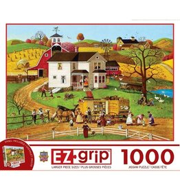 Masterpieces Puzzles & Games The Traveling Man (1000pc EZ-Grip)