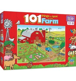 Masterpieces Puzzles & Games Things to Spot on The Farm (101pc)