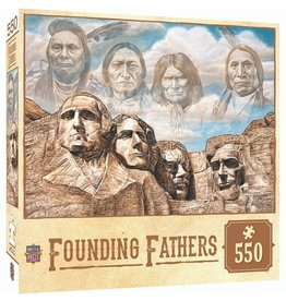 Masterpieces Puzzles & Games Tribal Spirit - Founding Fathers (550pc)