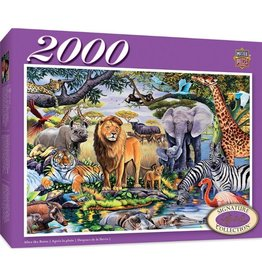 Masterpieces Puzzles & Games After the Rains (2000pc)