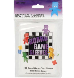 Board Game Sleeves (Extra Large, 65 x 100mm)