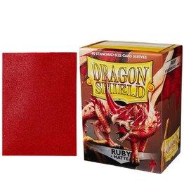 Dragon Shield (Matte Ruby)