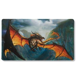 Dragon Shield - Playmat (Black - 'Amina' Obsidian Queen)