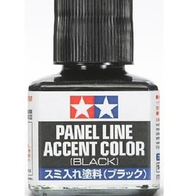 Panel Line Accent Color - Black (40ml)