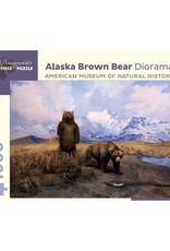 Pomegranate Alaska Brown Bear Diorama (1000pc)
