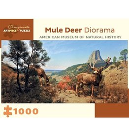 Pomegranate Mule Deer Diorama (1000pc)