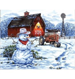 Paint Works Country Snowman (Professional)