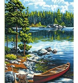 Paint Works Canoe by the Lake (Professional)