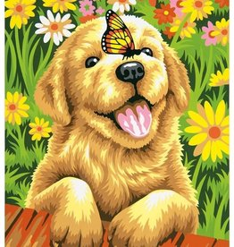 Paint Works Puppy Gardener (Intermediate)