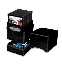 Satin Tower Deck Box (Hi-Gloss Midnight)