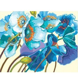 Paint Works Blue Poppies (Expert)