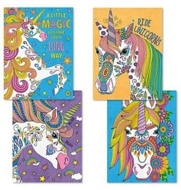 Paint Works Unicorn Magic - Pencil by Number 4 Pack (Expert)