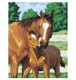Paint Works Mother's Pride (Horse with Foal)