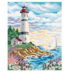 Paint Works Lighthouse at Sunrise