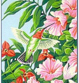Paint Works Hummingbird & Fuchsias (Intermediate)