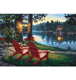 Paint Works Adirondack Evening