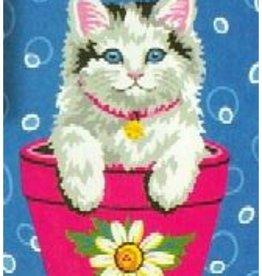 Paint Works Flower Pot Kitten (Beginner)